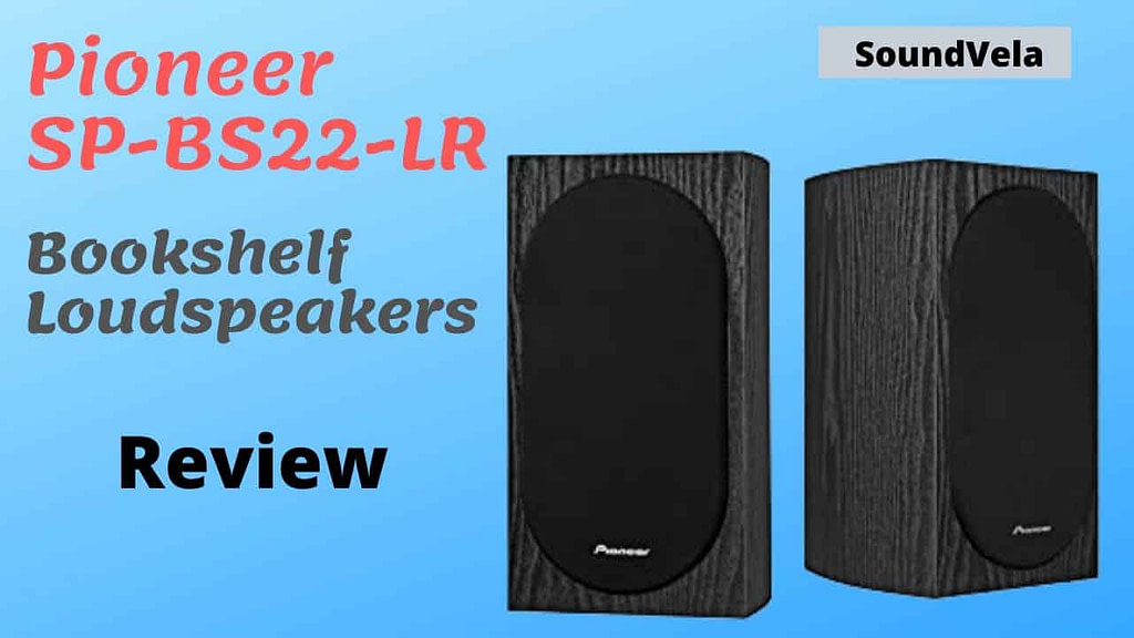 Pioneer SP-BS22-LR Andrew Jones Home Audio Bookshelf Loudspeakers