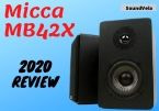 Micca MB42X Affordable Stylish Bookshelf Speakers | Review