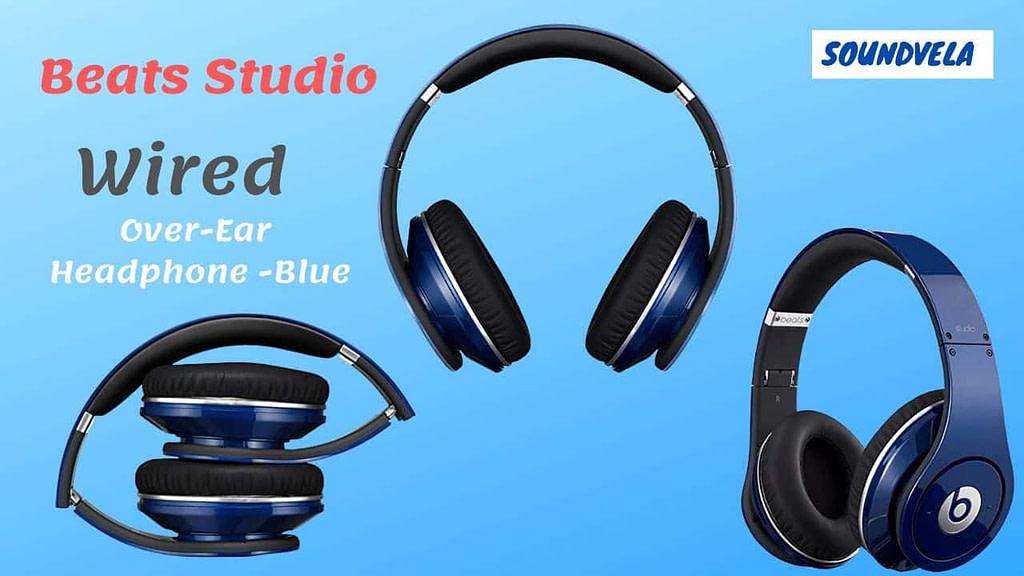 Beats Studio Wired Over-Ear Headphone - Blue