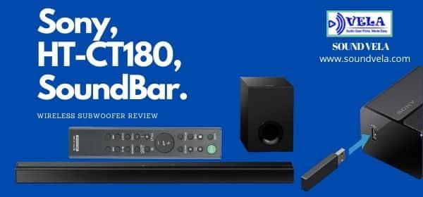 Sony HT-CT180 SoundBar Review
