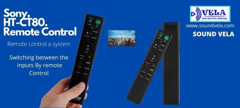 Sony HT-CT80 Remote Controll