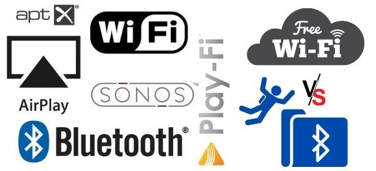 What's the Difference between Bluetooth and Airplay